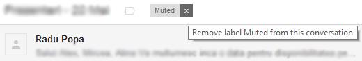 Gmail Unmute