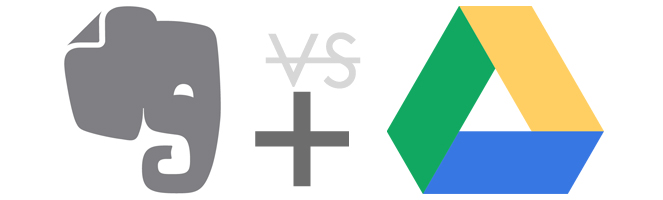 evernote and Google drive 0