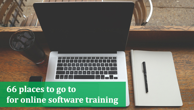 66 places for online software training